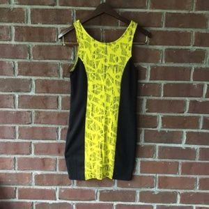 Nordstrom One Clothing Retro Bodycon Punk Dress!